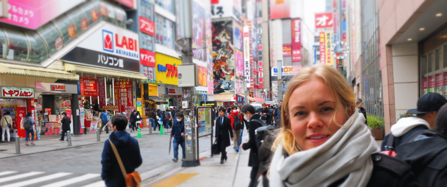 i tokyo var det fint